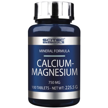 SCITEC NUTRITION Calcium Magnesium 100 cpr. Calcio e Magnesio per Metabolismo in vendita su Nutribay.it