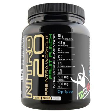 Net Nitro 2.0 Pre Intra W.O. con Proteine Idrolizzate AKG HMB MCT Arginina e Beta Alanina in vendita su Nutribay.it
