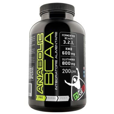 Net Anabolic BCAA 100 cpr Aminoacidi Ramificati 3:2:1 con Hmb e Glutammina e B6 in vendita su Nutribay.it