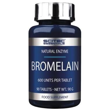 SCITEC Bromelain 90 cpr. Enzima Bromelina Estratto di Ananas Digestivo Drenante in vendita su Nutribay.it