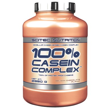 SCITEC 100% Casein Complex 2350g Caseine Micellari Proteine a Lento Rilascio