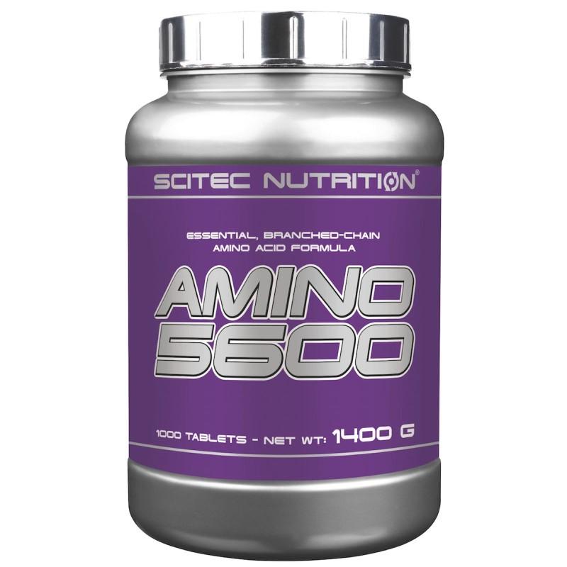 Scitec Amino 5600 1000 cpr. Aminoacidi Ramificati Bcaa Essenziali Completi in vendita su Nutribay.it