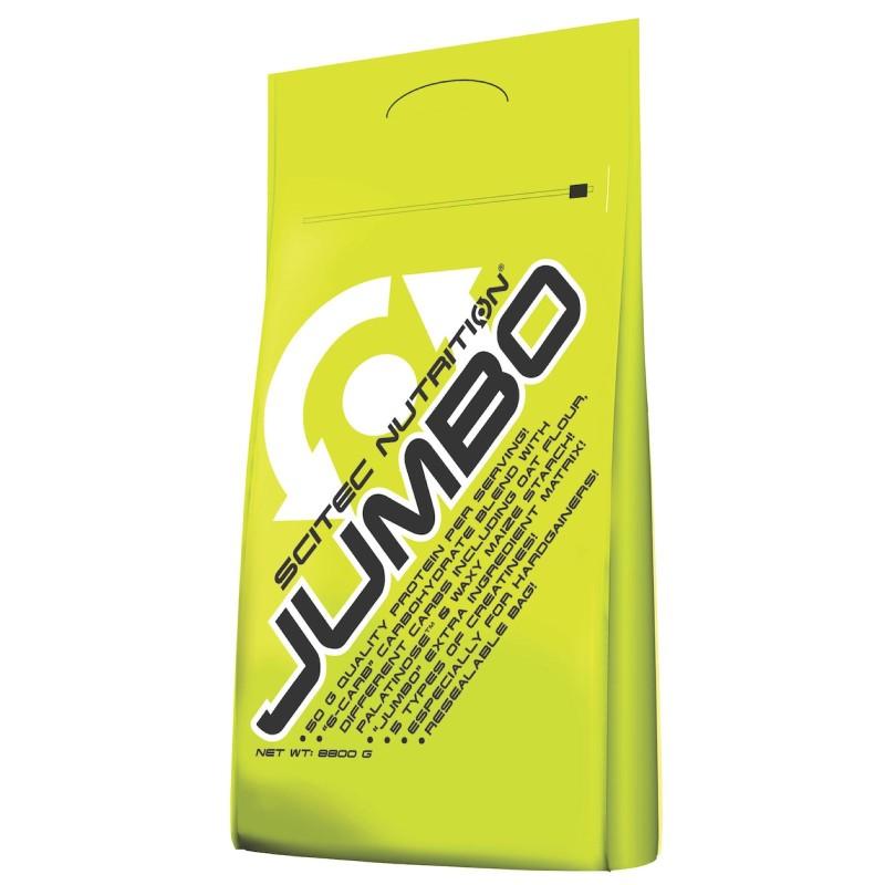 SCITEC JUMBO 8,8 kg MEGA MASS GAINER CON PROTEINE WHEY E CREATINA in vendita su Nutribay.it
