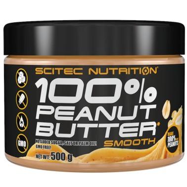 SCITEC NUTRITION 100% Peanut Butter Puro Burro d' Arachidi senza Zucchero e OGM! in vendita su Nutribay.it