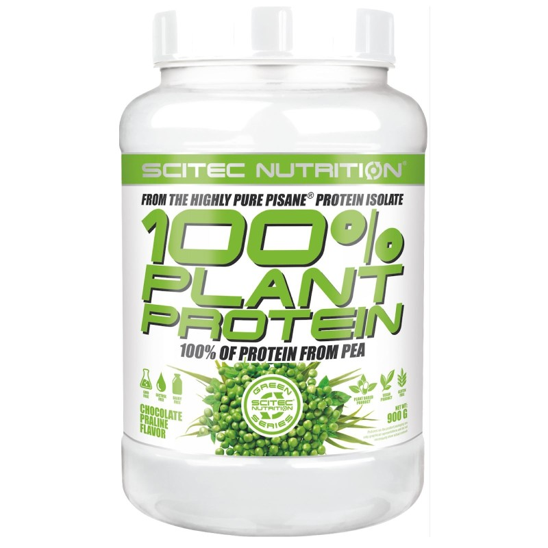 SCITEC NUTRITION 100% Plant Protein Proteine Vegane Pisane Isolate del pisello in vendita su Nutribay.it
