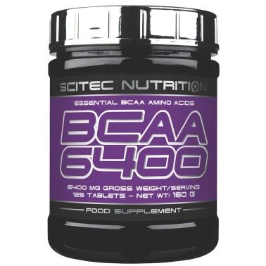 SCITEC NUTRITION BCAA 6400 Aminoacidi Ramificati 125 cpr. da 1 gr. + OMAGGIO whey in vendita su Nutribay.it