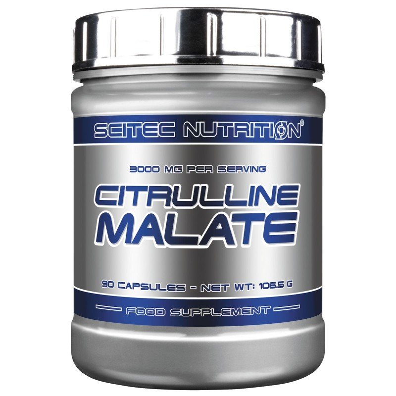 SCITEC NUTRITION Citrulline Malate 90c. L-Citrullina DL-Malato Ossido Nitrico in vendita su Nutribay.it