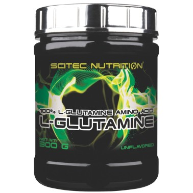 Scitec Nutrition L-Glutamine 300 gr. Glutammina in Polvere Anticatabolico - GLUTAMMINA - in vendita su Nutribay.it