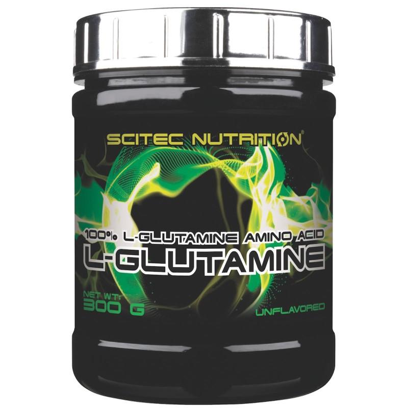 Scitec Nutrition L-Glutamine 300 gr. Glutammina in Polvere Anticatabolico in vendita su Nutribay.it