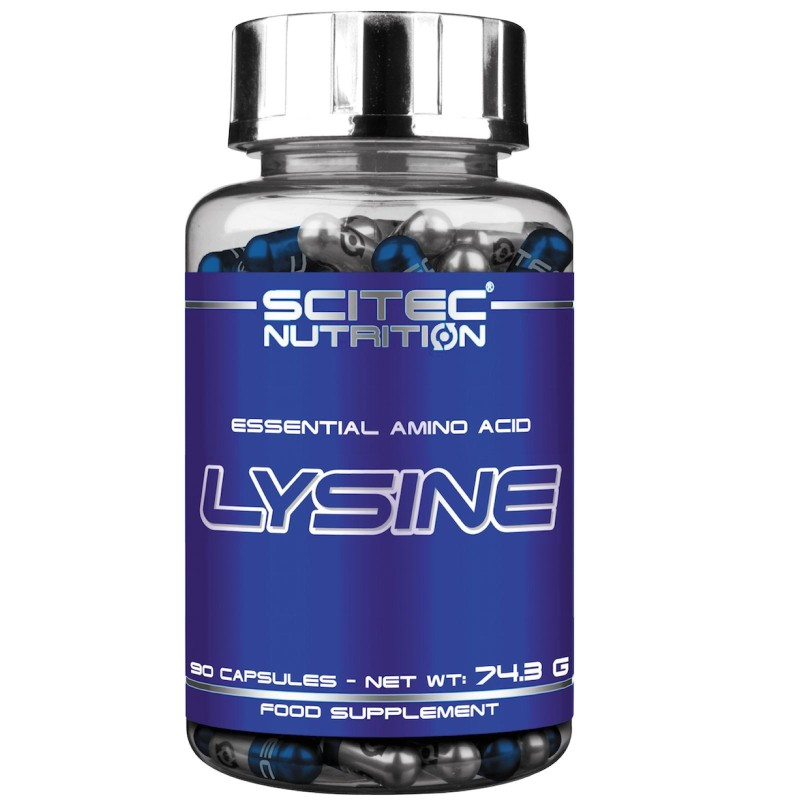 Scitec Nutrition Lysine 90 cps. Integratore di Aminoacido Lisina in vendita su Nutribay.it