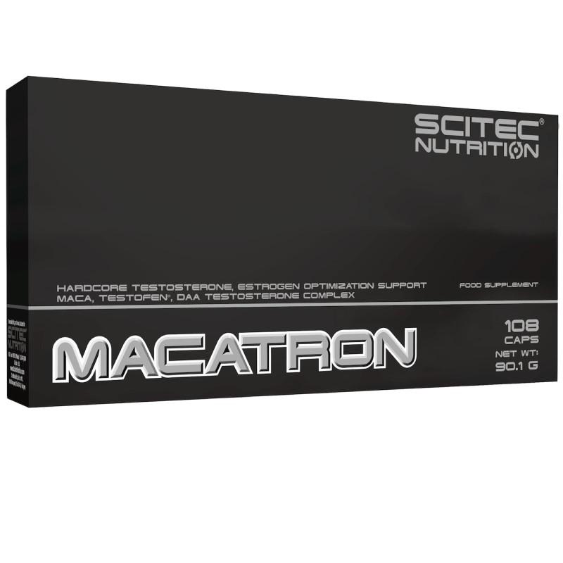 Scitec Nutrition Macatron 108 cps. Tonico Maca Daa Zinco Garcinia in vendita su Nutribay.it