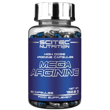 Scitec Nutrition Mega Arginine 90 cps. Arginina in Capsule Ossido Nitrico - ARGININA - in vendita su Nutribay.it