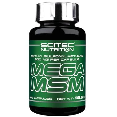 Scitec Nutrition Mega MSM 100 cps Metilsulfonilmetano Articolazioni