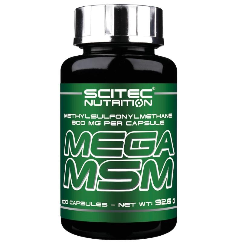 Scitec Nutrition Mega MSM 100 cps Metilsulfonilmetano Articolazioni in vendita su Nutribay.it