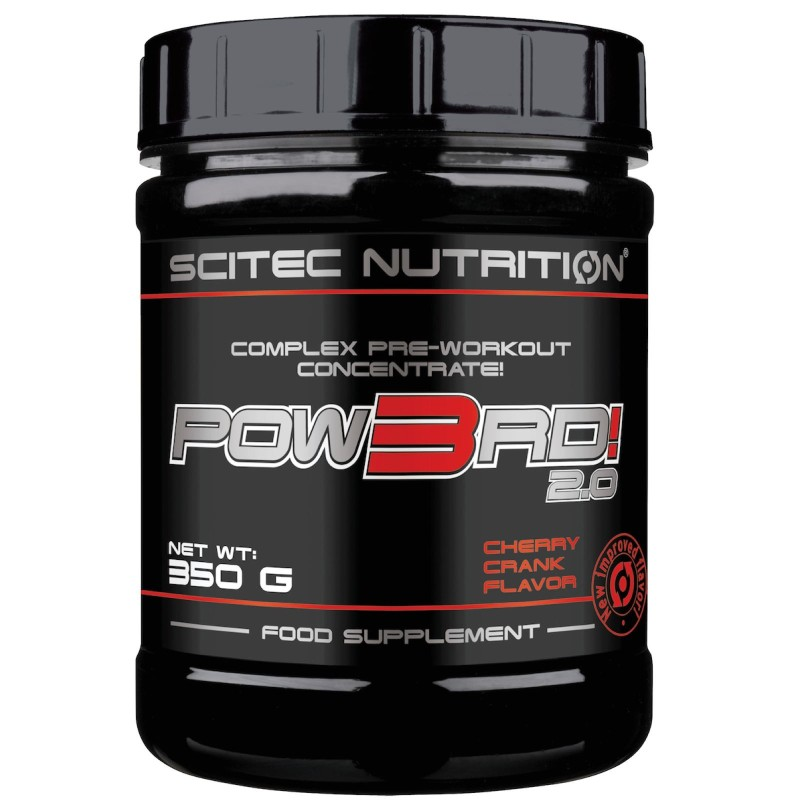 Scitec Nutrition Pow3Rd 2.0 350 gr. Pre Work Out con Creatina e Arginina in vendita su Nutribay.it