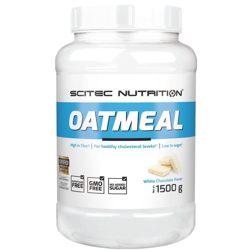 Scitec Oatmeal 1,5 kg Farina d Avena Aromatizzata con fiocchi Extra in vendita su Nutribay.it