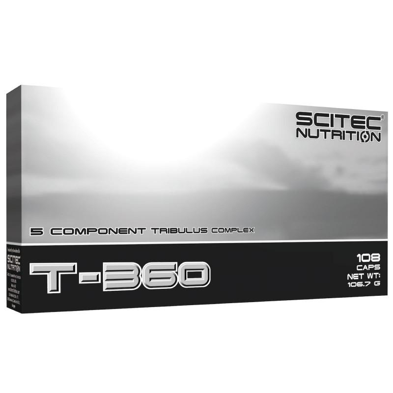 SCITEC T-360 108cps Tribulus Terrestris Zinco Arginina Stimolo Testosterone in vendita su Nutribay.it