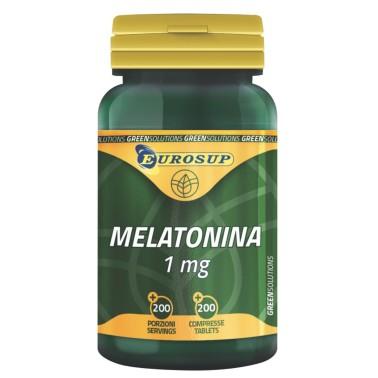 Eurosup Melatonina Pura 200 cpr. Integratore per regolare il Sonno e il Relax in vendita su Nutribay.it