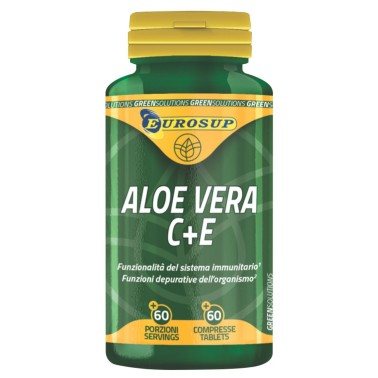 Eurosup Aloe Vera 60 compresse Integratore di Aloe con Vitamina C e E in vendita su Nutribay.it