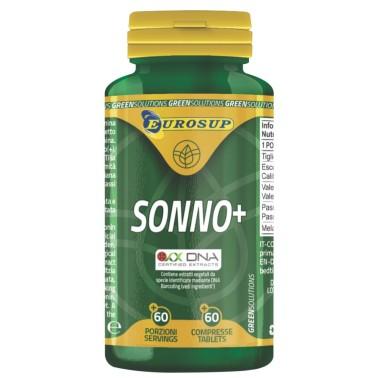 Eurosup Sonno+ 60 cpr. Integratore con Melatonina Escolzia Tiglio e Valeriana in vendita su Nutribay.it