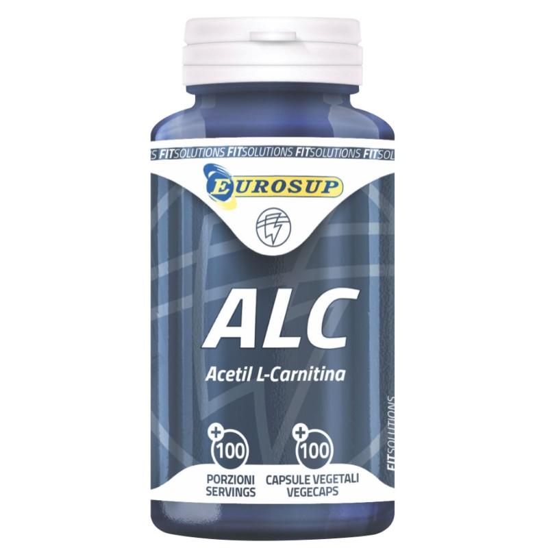Eurosup ALC Acetyl L-Carnitina 100 cps. Acetil Carnitina Lonza Carnipure in vendita su Nutribay.it