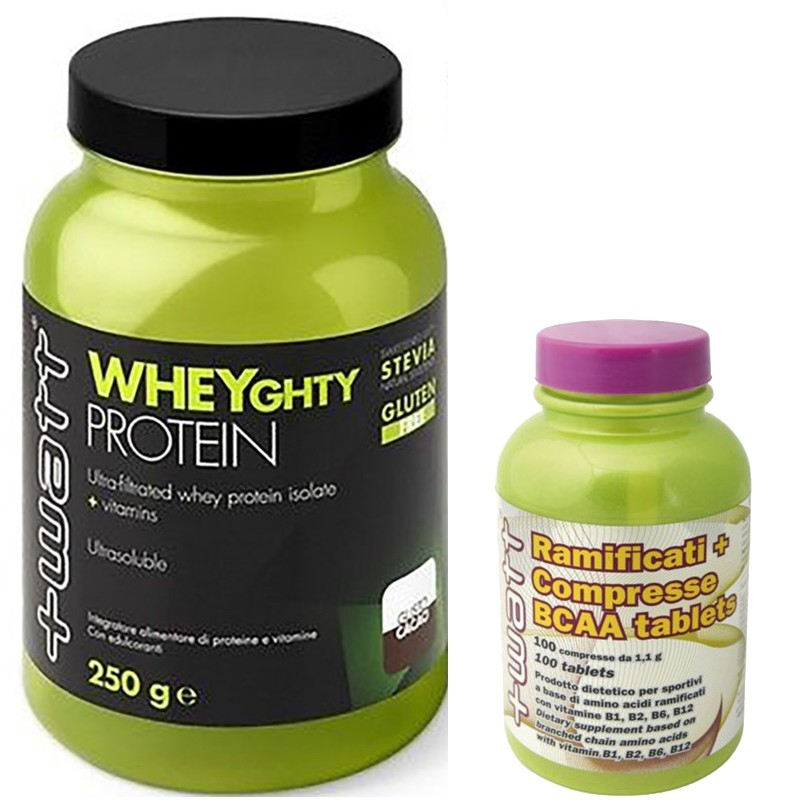 +WATT Wheyghty Protein 750gr. Proteine Isolate del Siero Latte + 100 Aminoacidi in vendita su Nutribay.it