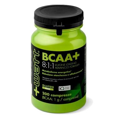 +WATT Bcaa+ 8:1:1 200 cpr. Aminoacidi Ramificati Kyowa 811 con Leucina e vit. B - AMINOACIDI BCAA 8.1.1 - in vendita su Nutri...