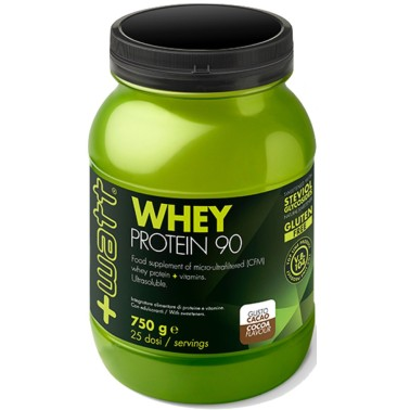 +WATT WHEY 90 750 g PROTEINE DEL SIERO DEL LATTE ISOLATE VOLAC AL 90% + VITAMINE in vendita su Nutribay.it