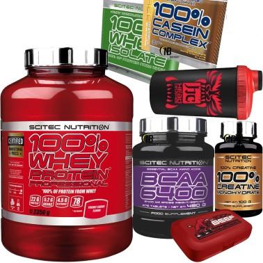SCITEC 100% Whey Protein Professional 2350gr. Proteine +375 Aminoacidi bcaa 6400 in vendita su Nutribay.it