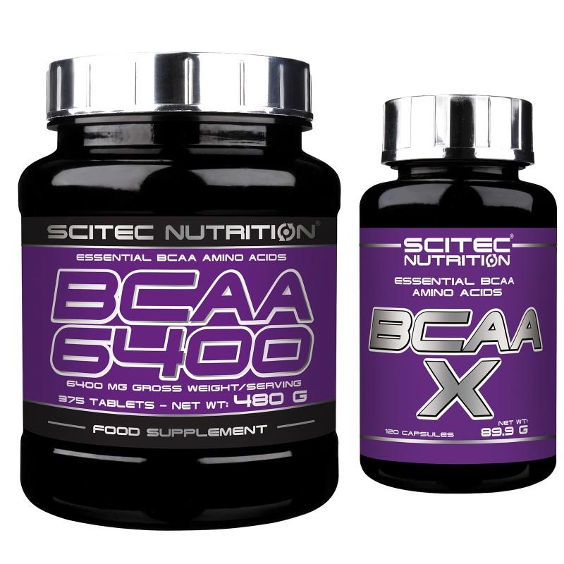 SCITEC NUTRITION BCAA 6400 Aminoacidi Ramificati 375cpr +120 Bcaa X Essenziali in vendita su Nutribay.it