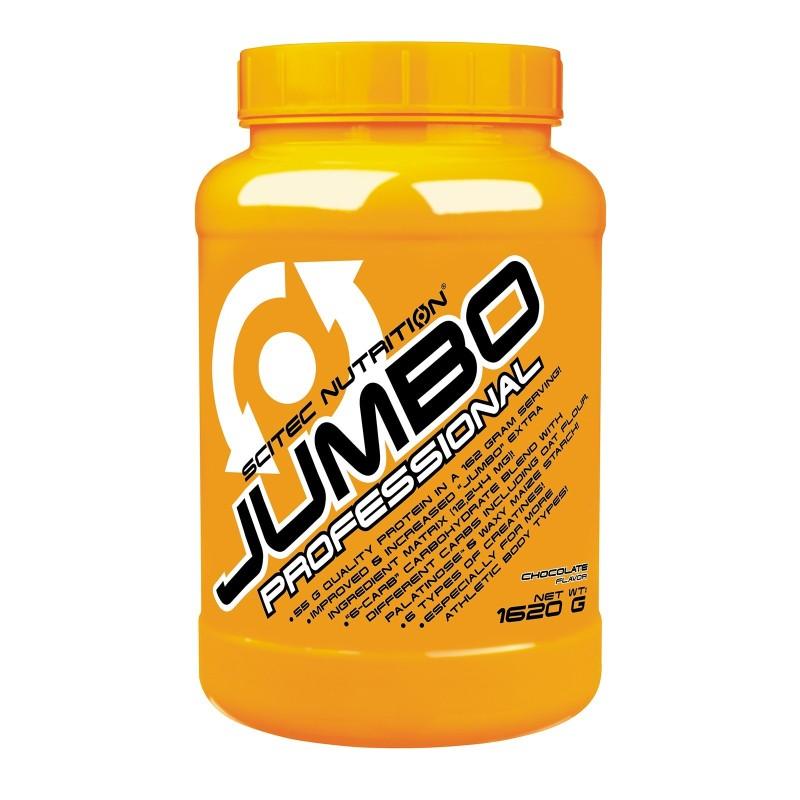 SCITEC JUMBO PROFESSIONAL 1620 gr Mega Mass Gainer di Proteine 6 tipi di Creatina - GAINERS AUMENTO MASSA in vendita su Nutri...