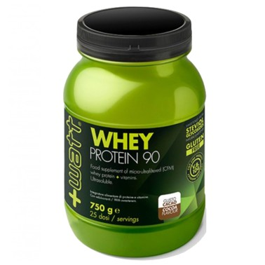 WHEY 90 +WATT 750g PROTEINE DEL SIERO DEL LATTE ISOLATE VOLAC AL 90% + VITAMINE in vendita su Nutribay.it
