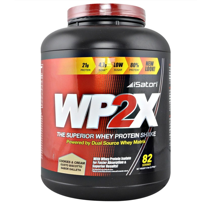 Isatori WP2X 2000 gr 2kg 100% Whey Proteine del Siero del Latte Isolate + SHAKER in vendita su Nutribay.it