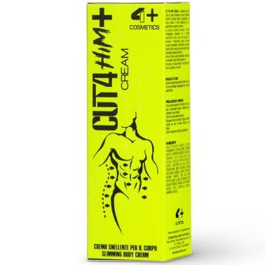 4+ Nutrition Cut 4 Him+ Cream 200 ml crema Modellante Snellente Termogenica in vendita su Nutribay.it