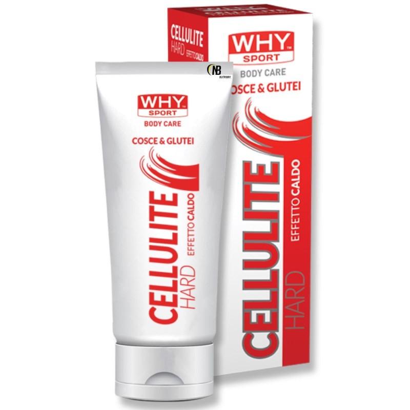 Why Crema Effetto Caldo cosce e glutei anti Cellulite snellente 200 ml. in vendita su Nutribay.it