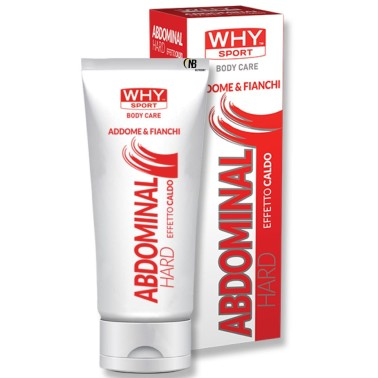Why Abdominal Hard Crema Rimodellante Addome e Fianchi 200 ml. - CREME in vendita su Nutribay.it