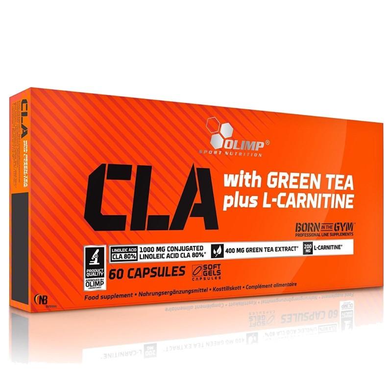 Olimp Cla con Te Verde e L- Carnitina Sport edition 60 capsule in vendita su Nutribay.it
