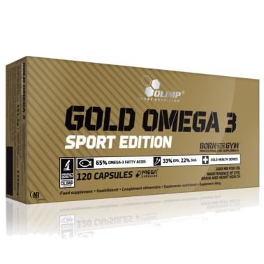 Olimp Gold Omega 3 Sport edition 120 caps EPA e DHA + Vitamina E in vendita su Nutribay.it