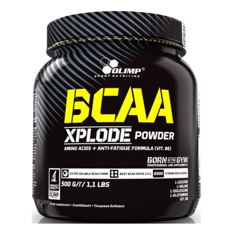 Olimp Bcaa Xplode Powder 500 gr Aminoacidi + Glutammina e Vit B6 - AMINOACIDI BCAA in vendita su Nutribay.it