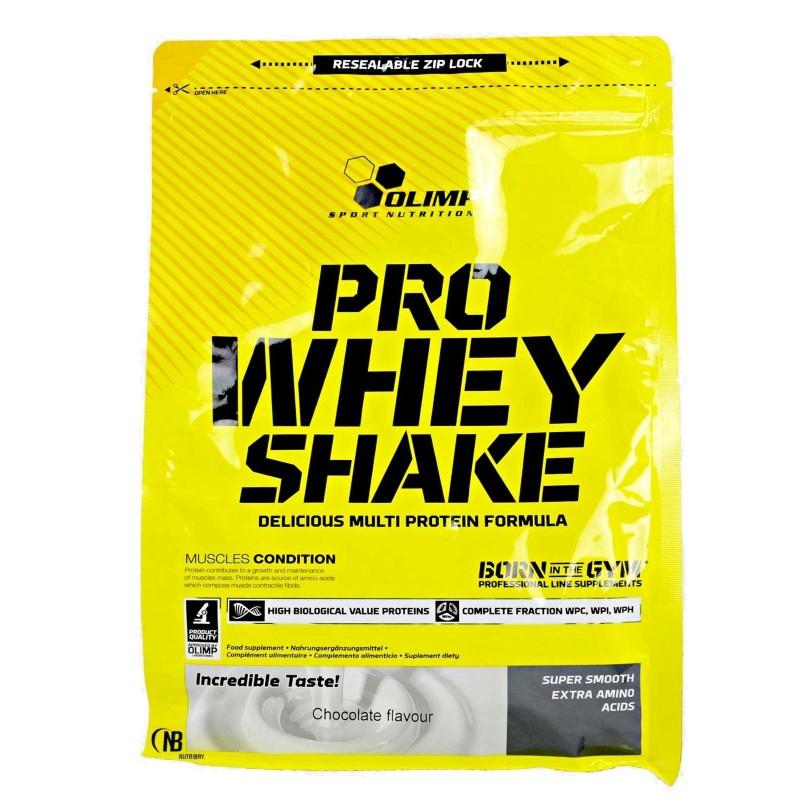 Olimp Pro Whey Shake 700 gr Proteine del Siero Isolate Idrolizzate e Concentrate in vendita su Nutribay.it
