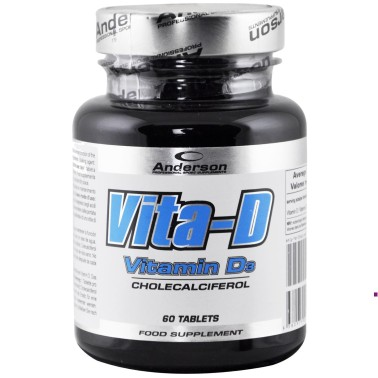Anderson Research Vita-D 60 compresse da 400 mg Vitamina d alto dosaggio in vendita su Nutribay.it