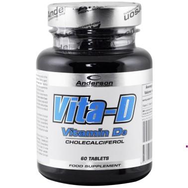Anderson Research Vita-D 60 compresse da 400 mg Vitamina d alto dosaggio in vendita su Nutribay.it
