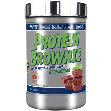 Scitec Nutrition Protein Brownie 750 gr con Avena e Proteine in vendita su Nutribay.it