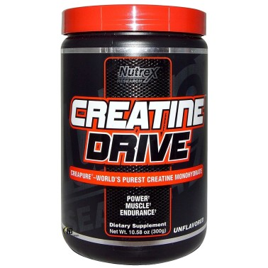 Nutrex Creatine Drive Black 300 gr Creatina Ultra Creapure in vendita su Nutribay.it