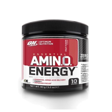 Optimum Nutrition On Amino Energy 90 gr Aminoacidi Caffeina ed estratti vegetali - AMINOACIDI COMPLETI in vendita su Nutribay.it