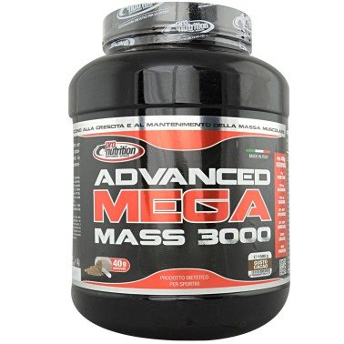 Pronutrition Advanced Mega Mass 3000 1,5 Kg Mass gainer con Proteine - GAINERS AUMENTO MASSA - in vendita su Nutribay.it