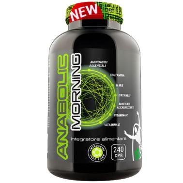 Net Integratori Anabolic Morning 240 cpr Aminoacidi Essenziali per la colazione - AMINOACIDI COMPLETI - in vendita su Nutriba...