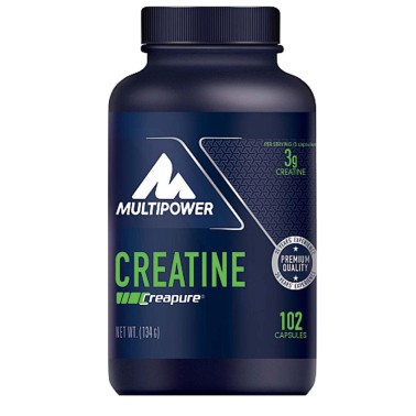 Multipower Creatine 102 capsule Creapure CREATINA in vendita su Nutribay.it