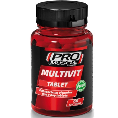 Proaction Pro Muscle Multivit 60 cpr Multivitaminico Minerale Completo - VITAMINE in vendita su Nutribay.it