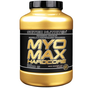 Scitec Nutrition Myomax Hardcore 3080 gr Mega Mass gainer di Proteine - GAINERS AUMENTO MASSA in vendita su Nutribay.it
